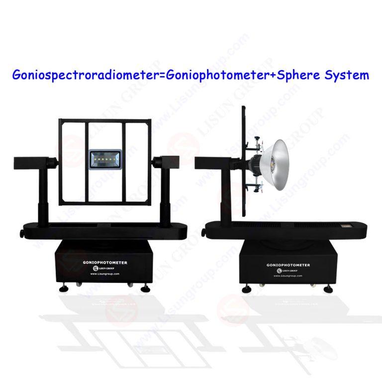 High-accuracy Rotation Luminaire Goniospectroradiometer