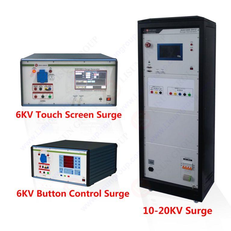 IEC 61000-4-5 Lightning surge immunity