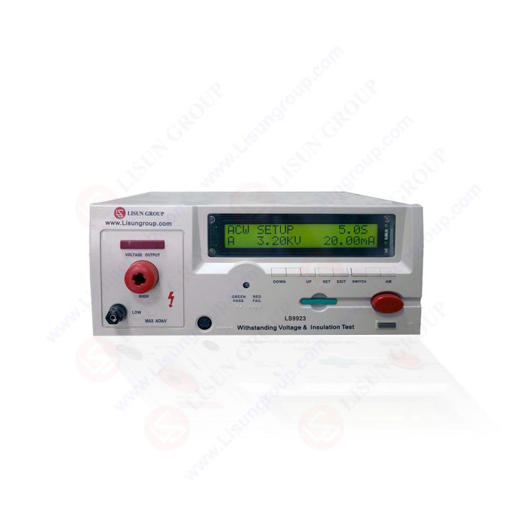 Programmed dielectric withstand voltage tester