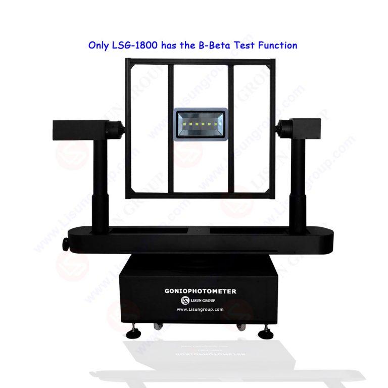Rotation Luminaire Goniospectroradiometer