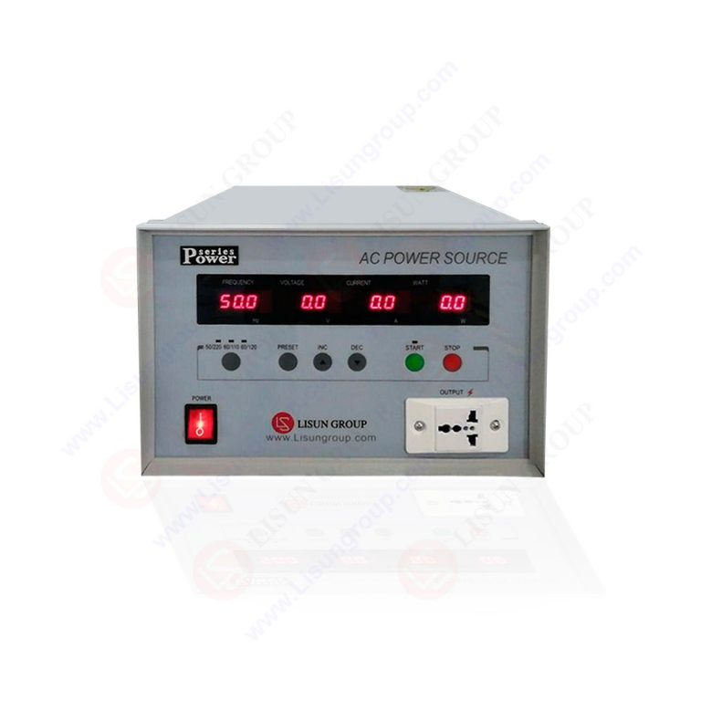 Frequency conversion AC Power Souce