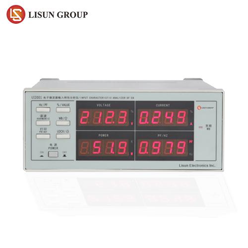 Electronic Ballast Input Analyzer for V(600V), A(2A), W, PF/Hz, THD
