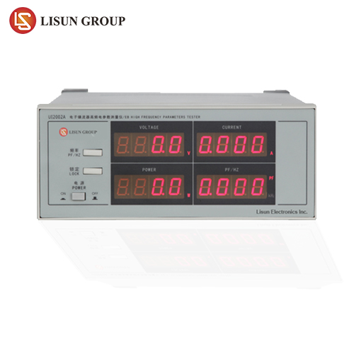 Electronic Ballast Parameters Tester measures Vrms, Irms, W, PF/Hz