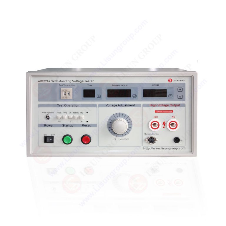 Hipot Withstand Voltage Tester