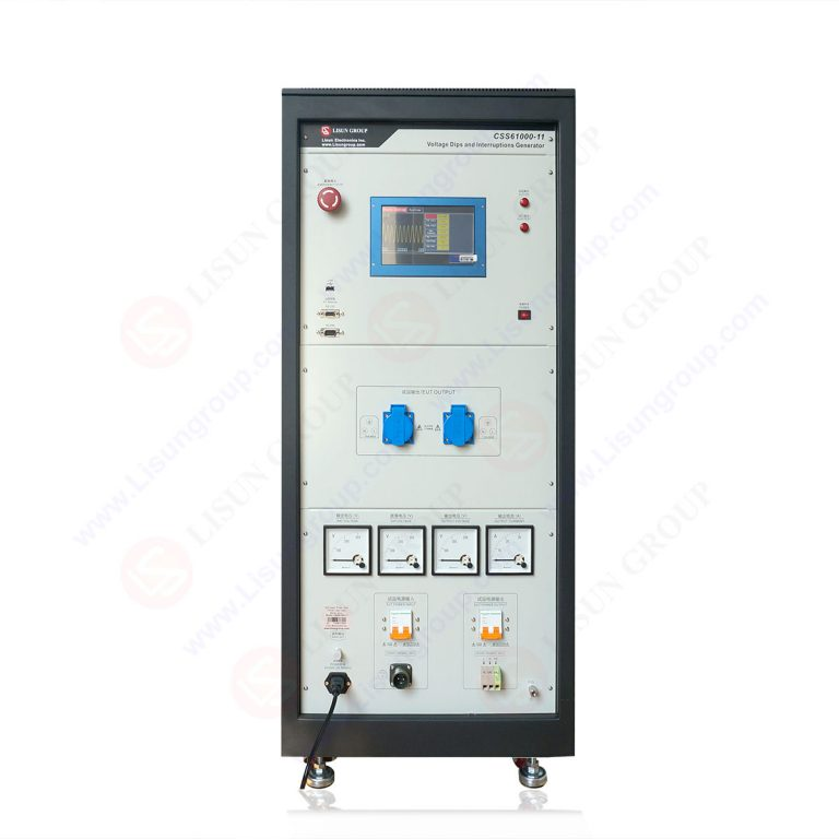 IEC 61000-4-11 Voltage Dips and Interruptions Generator